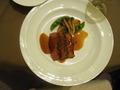 コース料理 お肉料理