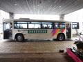 ホテルとスキー場を結ぶ巡回バス