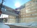 スキー場のセンターハウス