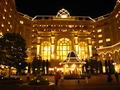 夜のディズニーランドホテル