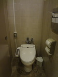 本館のトイレの便座