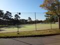 ウエストエリアのテニスコート