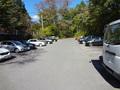 ハルニレテラスの駐車場