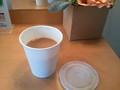朝食コーヒーのテイクアウトサービス