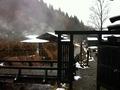 鶴の湯 離れ 冬の景色