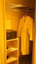 バスローブと浴衣と両方ありました