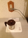 湯沸かしポットは電磁波タイプ