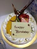 hpcjのバースデー特典のケーキ