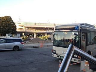 舞浜駅との無料バス