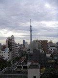 東京スカイツリーが見えます