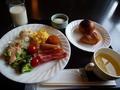 朝食も美味しかった