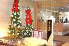 クリスマスムードたっぷり ホテルまほろば
