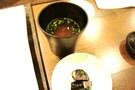 お味噌汁と漬物