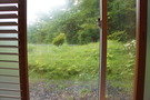 窓をあけてみた