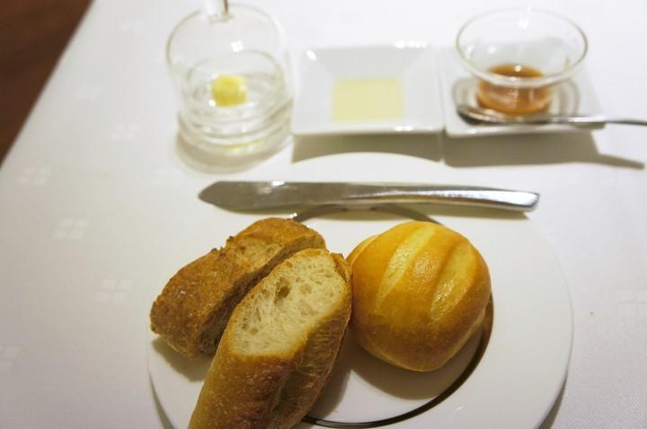 「ZEN」での夕食のバケット