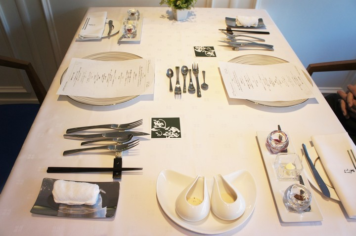 テーブルセット全体