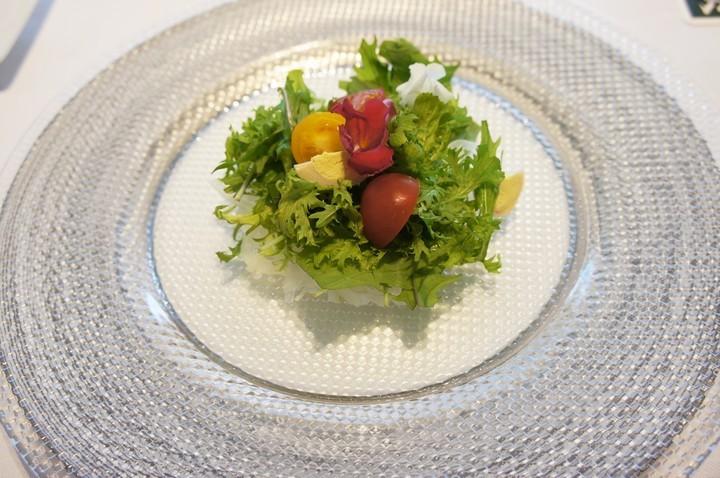 朝食サラダ