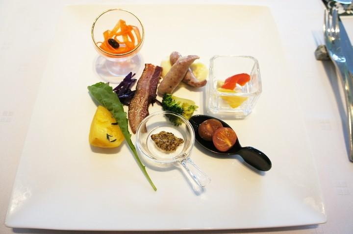 北海道フレンチ&イタリアン、「ZEN」の朝食