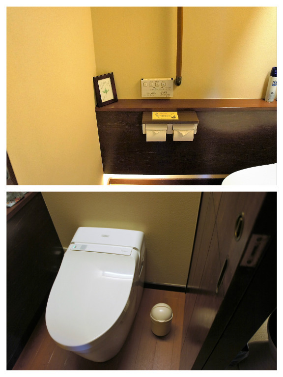 部屋トイレ