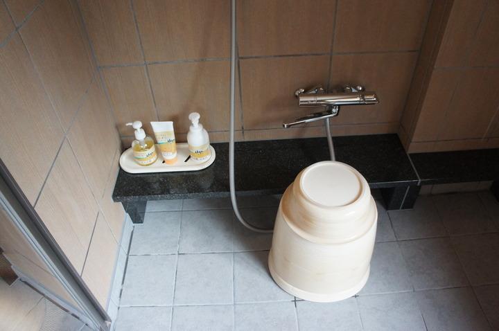 部屋温泉風呂の