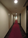 客室へつづく廊下