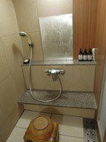 家族風呂の洗い場
