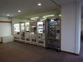 本館の廊下にある販売機