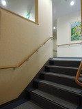 廊下の階段