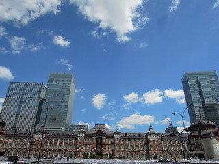 なんといっても東京駅の駅舎