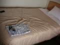 ベッドと部屋着