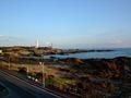 お部屋から望む太平洋と野島埼灯台