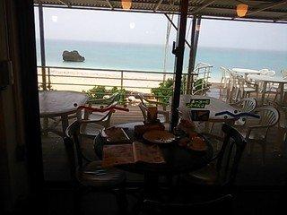 レストランからの風景