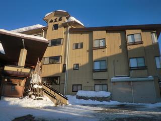 標準的な雪山の宿