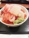 朝食海鮮丼
