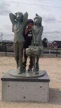 コナンの像