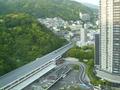 28階からJR新神戸駅