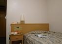 スタンダードシングルのベッド