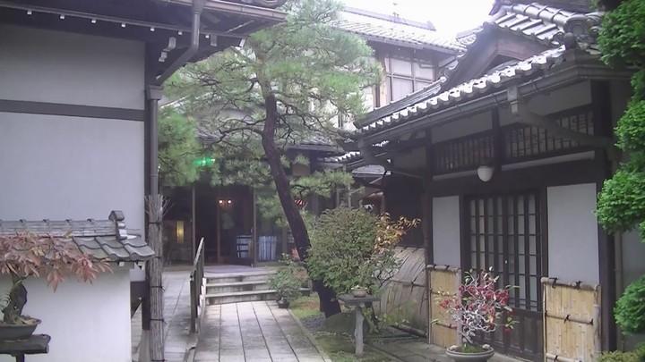 花扇別邸いいやまの入口