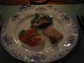 レストランメテオにて 夕食(オードブル)