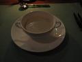 レストランメテオにて 夕食(スープ)