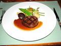 レストランメテオ 食事(肉料理)