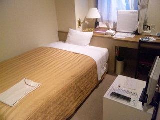 小さいがよいホテルです