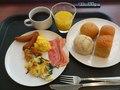 今日の朝食ブッフェ