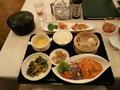 1階の四川飯店で宿泊者メニューで夕食