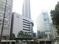 真ん中の高いところがヒルトン大阪