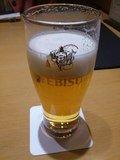 先ずは生ビール