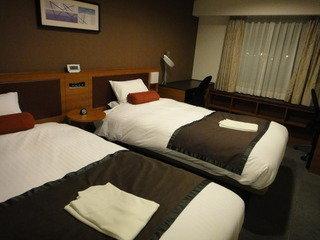 シンプルできれいなホテル!
