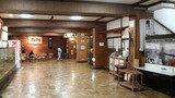 酸ヶ湯温泉旅館のロビー