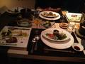 オーベルジュ土佐山の夕食