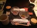 オーベルジュ土佐山の夕食のデザート